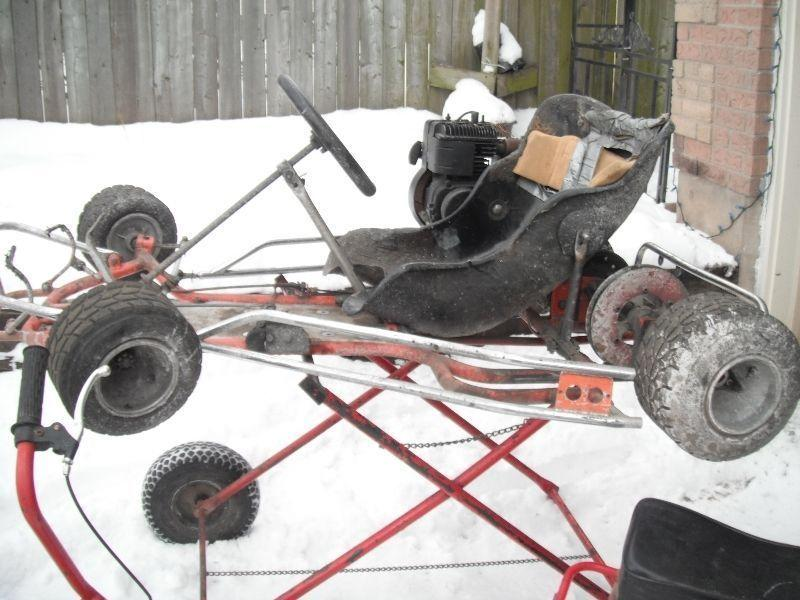 Twin Engine Kart & E-scooter
