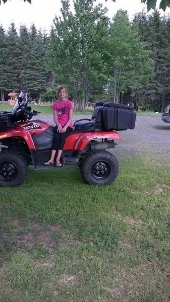 Cargo box for ATV