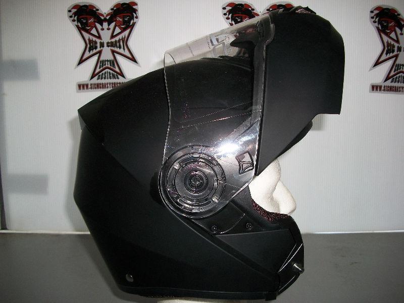 TORC Flat Black Avenger, Modular With Sun Lens - Large