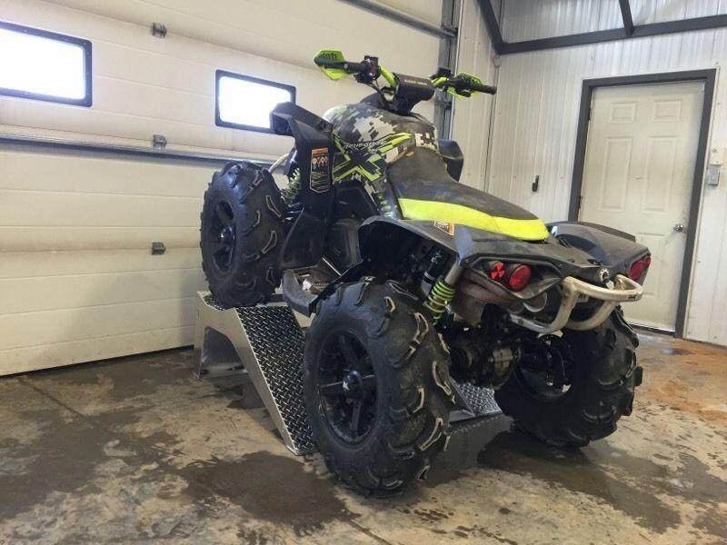 Aluminum ATV Riser ramp