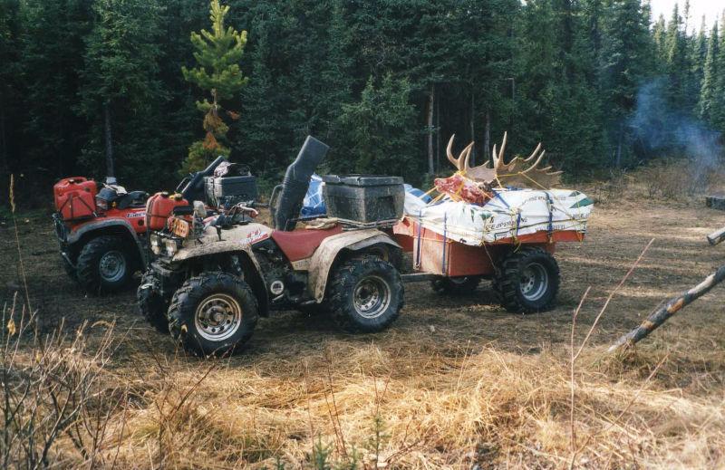 Custom Built ATV Trailer