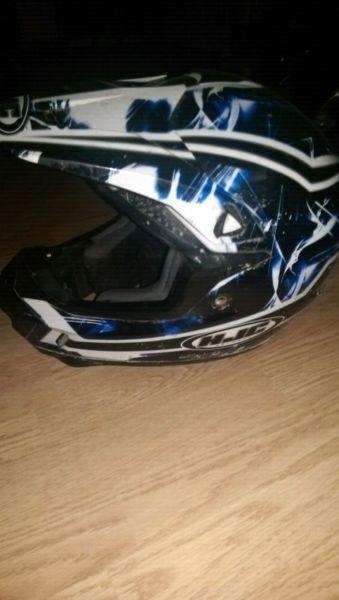 Quad, dirt bike helmet