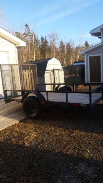 Argo Bigfoot 6x6 and 6x10 trailer