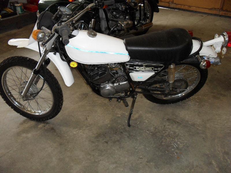 1976 Yamaha DT 100 Enduro