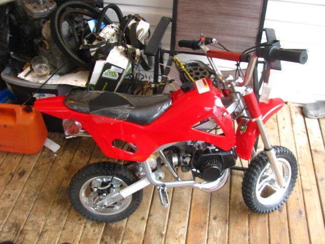 Brand New Gio Mini Dirt Bike For Trade