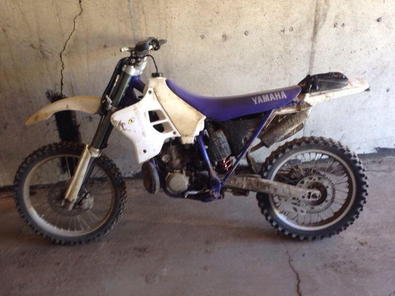 Yamaha yz 250 2 stroke for sale brick7 motorcycle for Yamaha 250 scrambler for sale