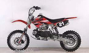 110cc orion pit bike semi automatic