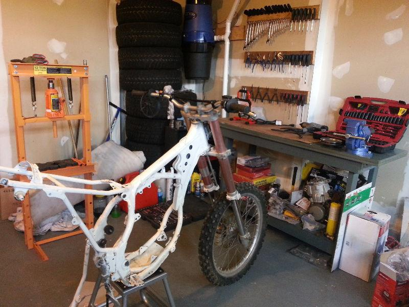 Dirt Bike Repairs and Rebuilds! Cheap