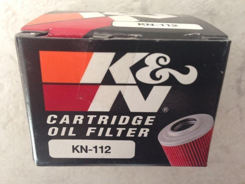 BRAND NEW 1981 - 2016 K & N OIL FILTER FITS MANY BIKES SEE LIST