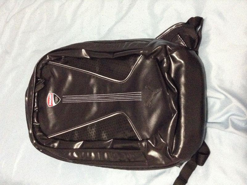 Ducati back pack bag