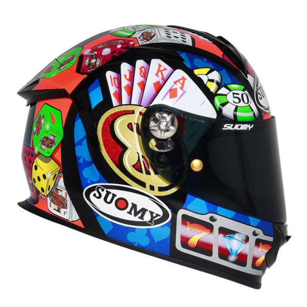 NEW Suomy SR Sport Gambler Helmet Large