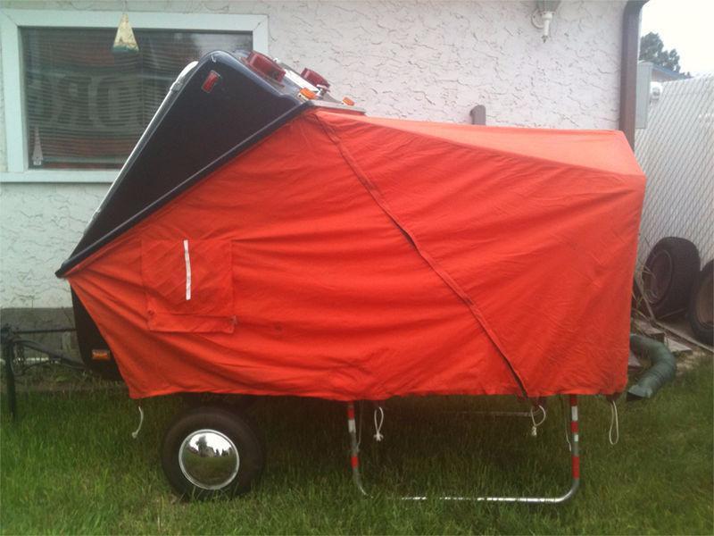 Cycle Sleeper Mini Tent Trailer