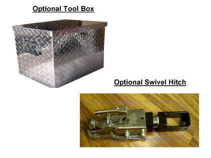 Marlon AMT Aluminum Motorcycle Pull Behind Trailer Price: $1849