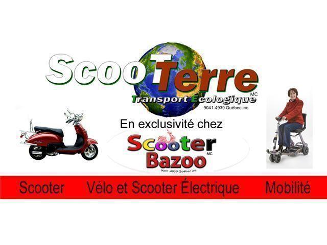 SCOOTER ELECTRIQUE ZEN 500W 32 KM/H LIQUIDATION