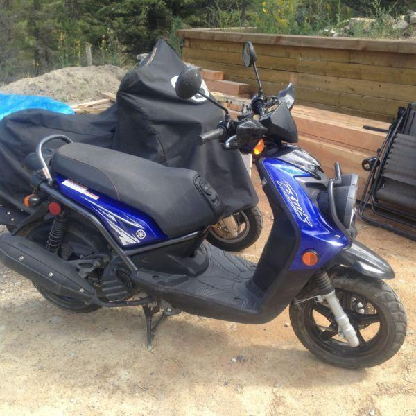 2009 Yamaha BW 125cc Scooter