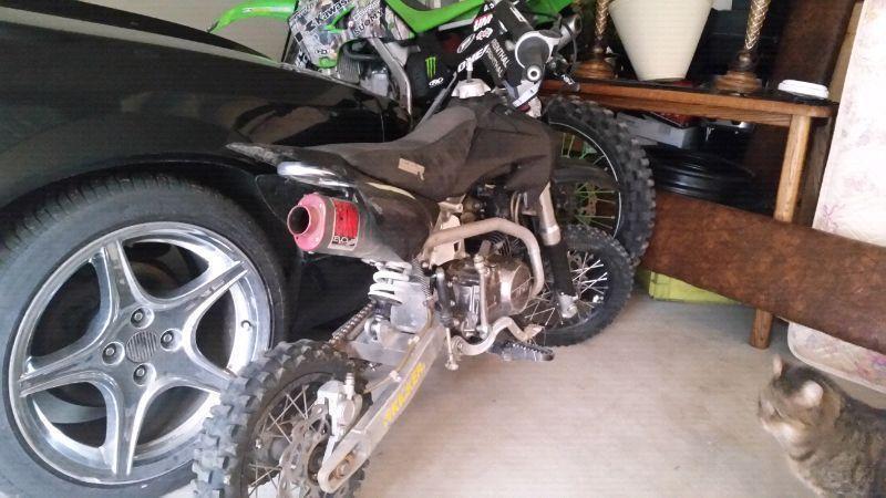 2008 ssr 125 cc pit bike