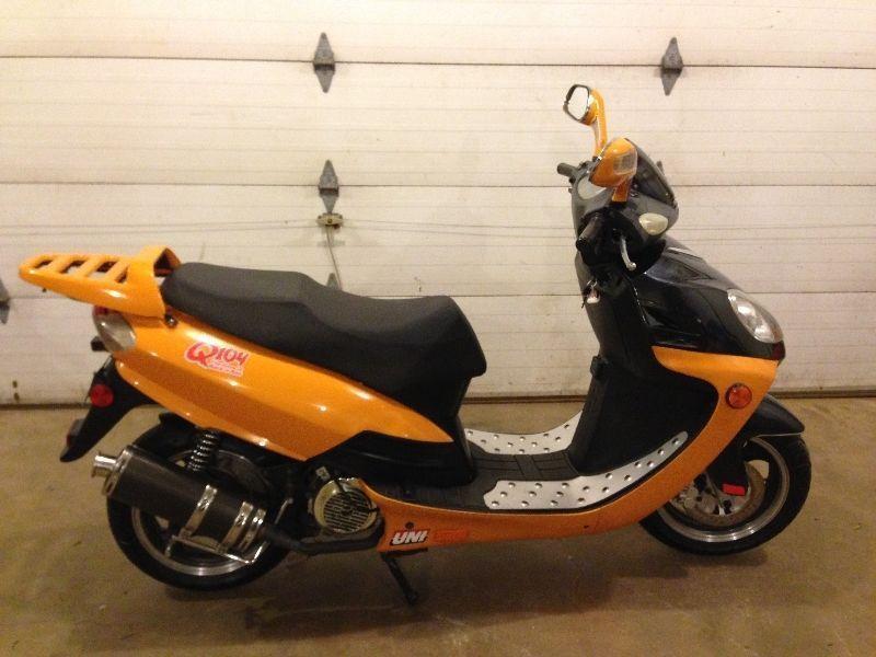 2007 Volano Uni 150cc. sport scooter