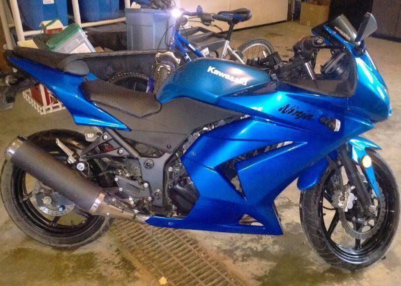Ninja 250 trade or sell