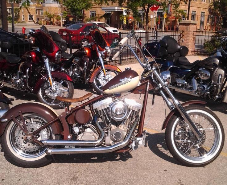 Trade my custom Harley for dodge diesel