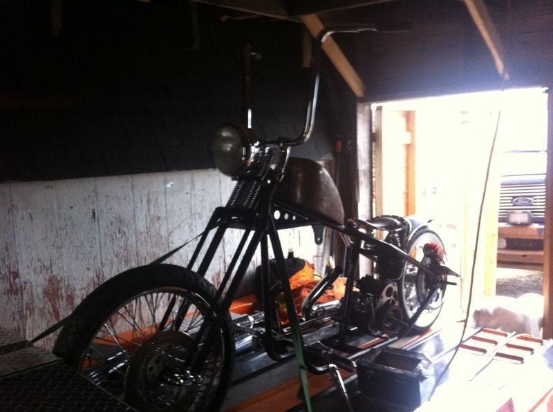 79 rigid hard tale bober new build