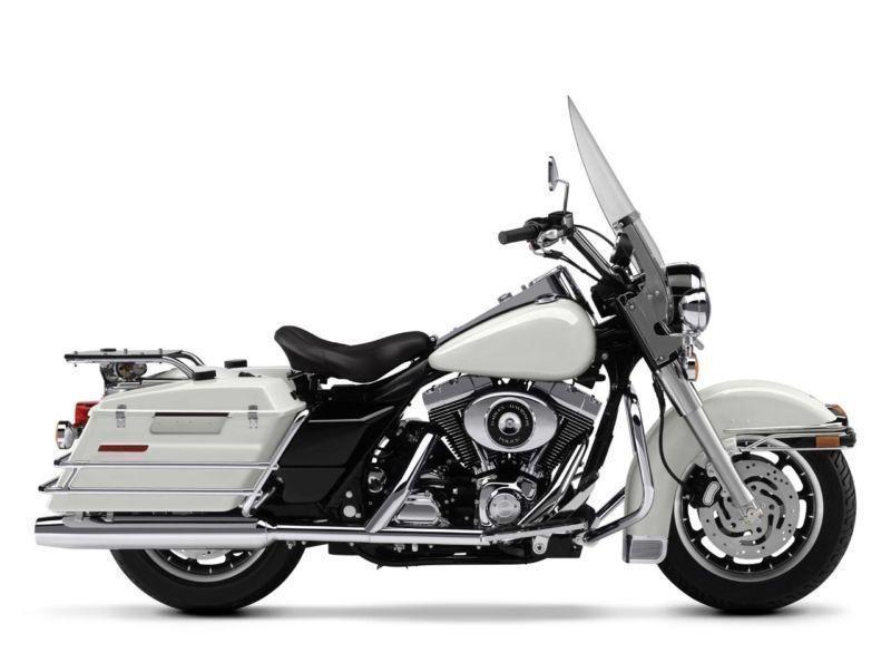 police special Harley Davidson