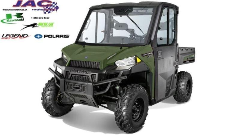 2015 Polaris Ranger Diesel HST Deluxe** 55.08$*/sem