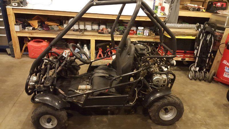 2007 gio 110cc off-road go kart