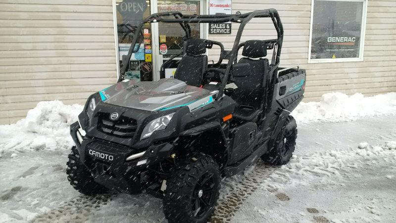 **37 per WEEK** UFORCE UTV, SIDE by SIDE - 500cc HO - 4X4 DUMP
