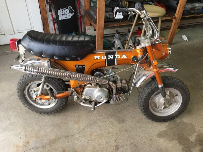 honda ct70 for sale brick7 motorcycle. Black Bedroom Furniture Sets. Home Design Ideas