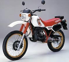 Wanted: Yamaha DT200R Parts wanted