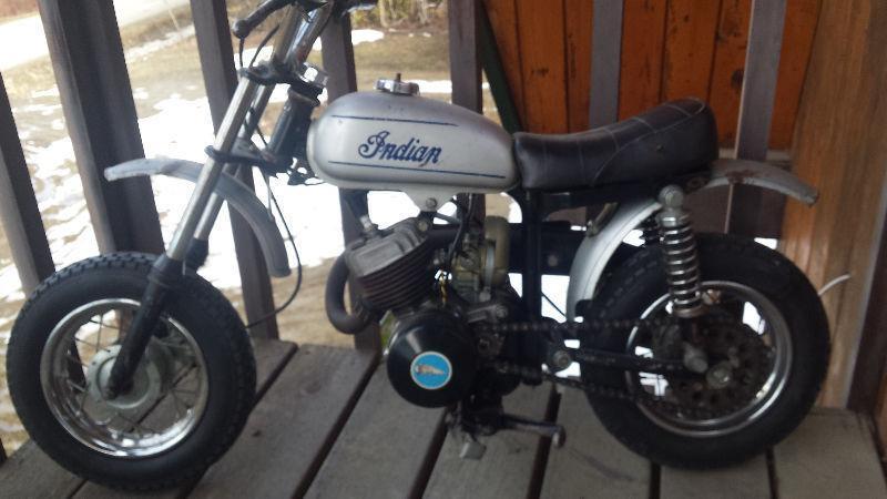 Indian Mini Mini MM5A dirt bike Very rare