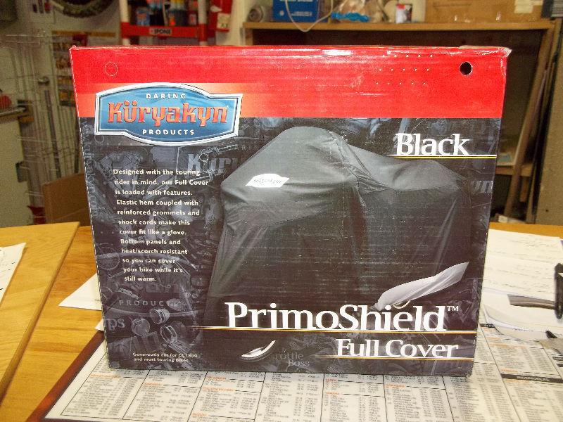 Black Kuryakyn Primoshield Full-Size Cover