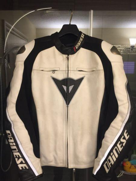 Dainese Delmar Leather jacket size 52