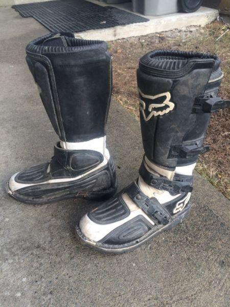 Wanted: Fox dirt bike boots