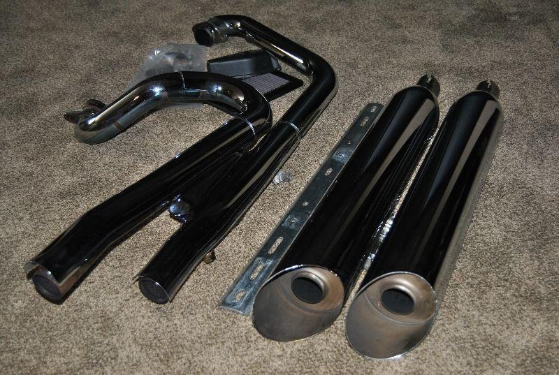 Stage 1 exhaust and K&N air filter