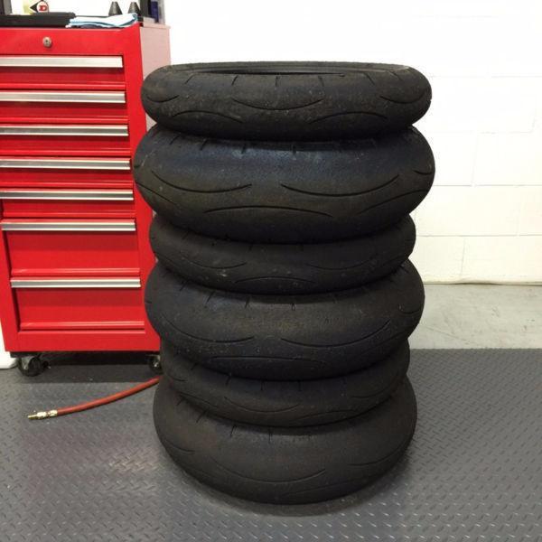 ★★ Dunlop GP-A PRO Motorcycle Tires 190 / 120 Set - CHEAP!!! ★★