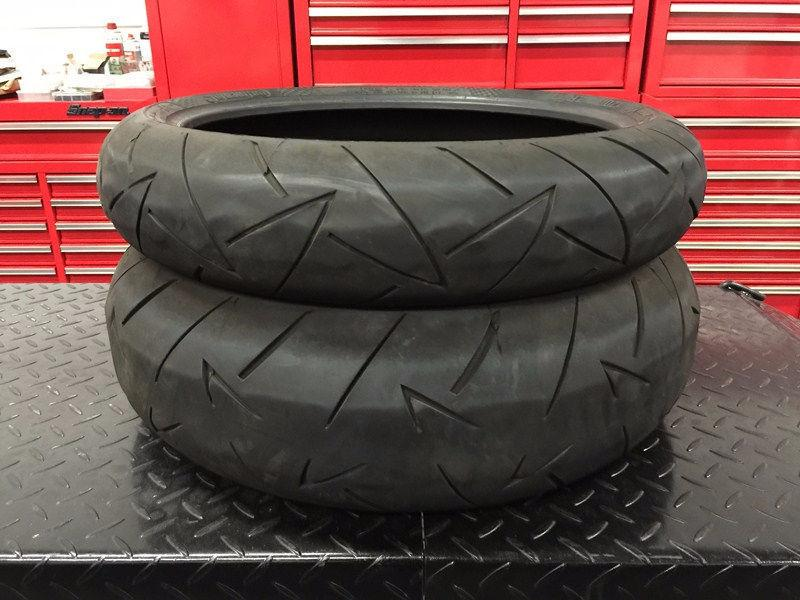 Used Motorcycle Tires ★ CLEARANCE SALE ★ 120/70ZR17 & 180/55ZR17