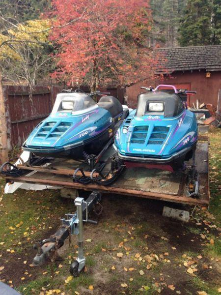 Twin sleds