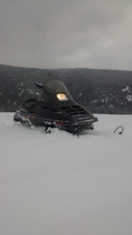 Polaris rmk 600 sled