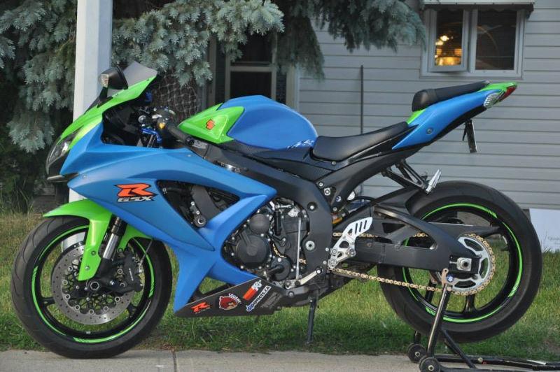 2009 GSX-R 750 5000Kms - RUSH!!