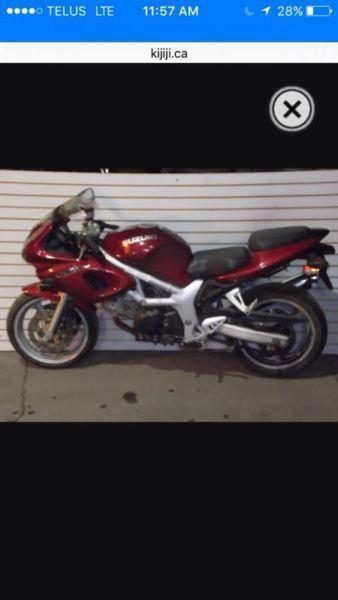 Motorcycles visa MasterCard accepted