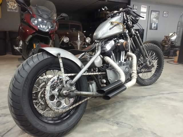 Professionally Built Custom Harley