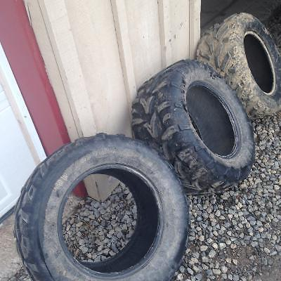 Used take-Arctic Cat tires 26X12x14