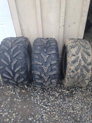 Used take-Arctic Cat tires 26X12x14