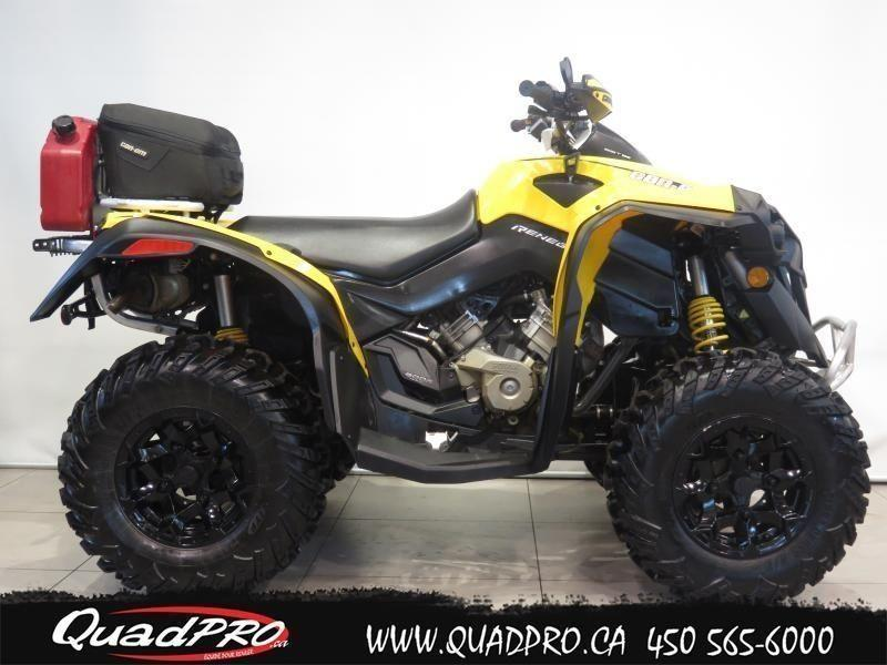 2012 Can-Am RENEGADE 800R 42,32$/SEMAINE