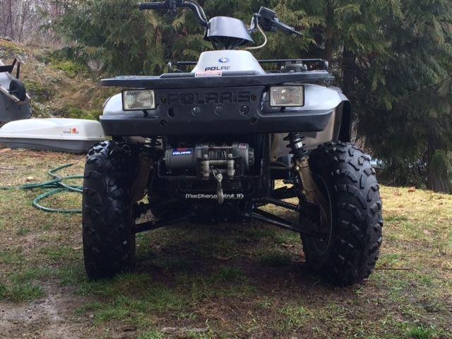 Polaris 4 wheel drive quad 330 Magnum
