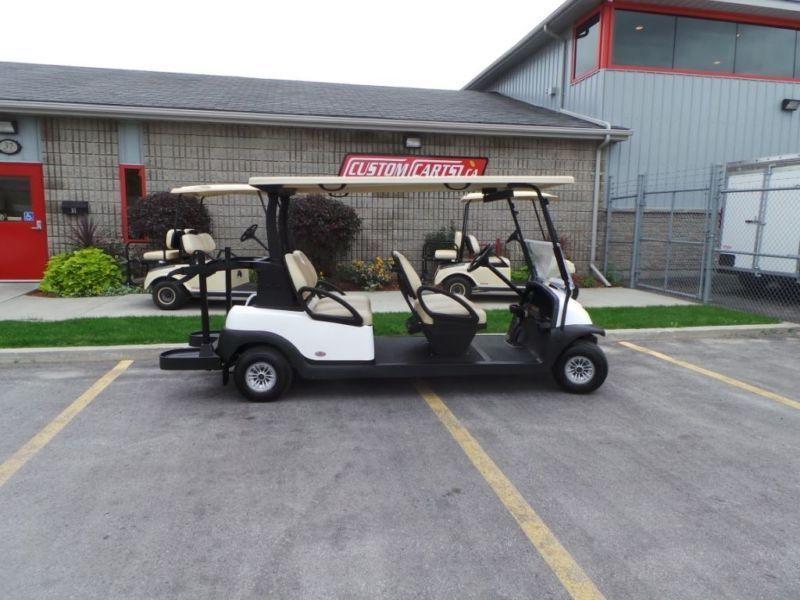 2015 Club Car Transporter FACTORY 4 FUN STRETCH GOLF CART