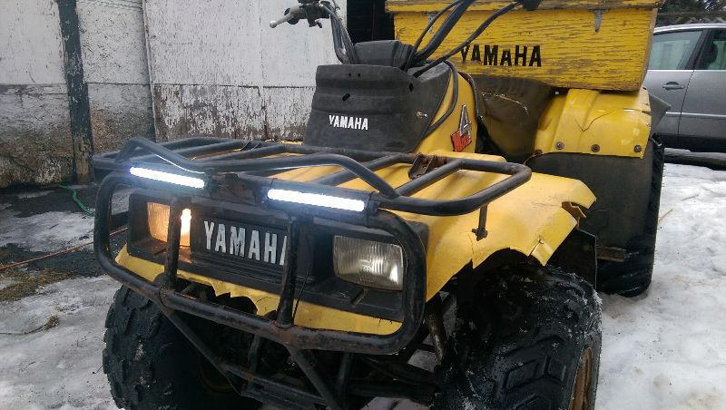 Yamaha moto 4