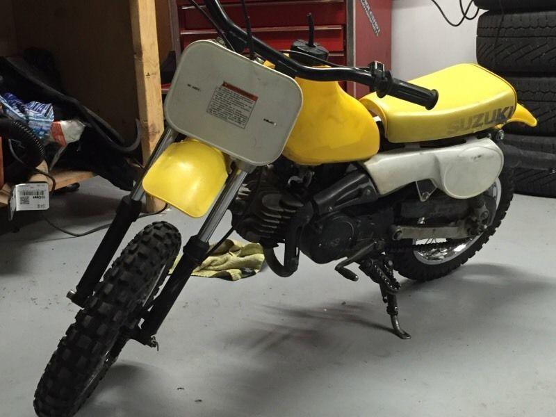 Suzuki PW50 PW 50 Mini Motorcycle