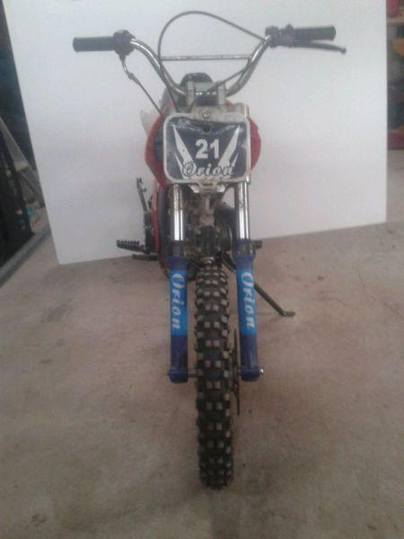 2011 Orion 110cc dirt bike